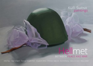 Hellmet BETWEEN PEACE AND WAR, af Külli Suitso, udgivet 2017
