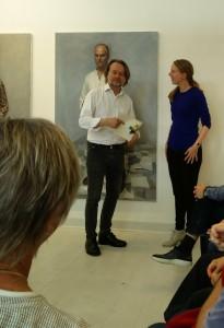 Artist Talk med Peter Martensen, sommeren 2017