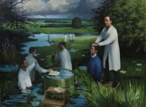 Homeland, 176x241, Maleri af Peter Martensen. Foto: Henrik Petit