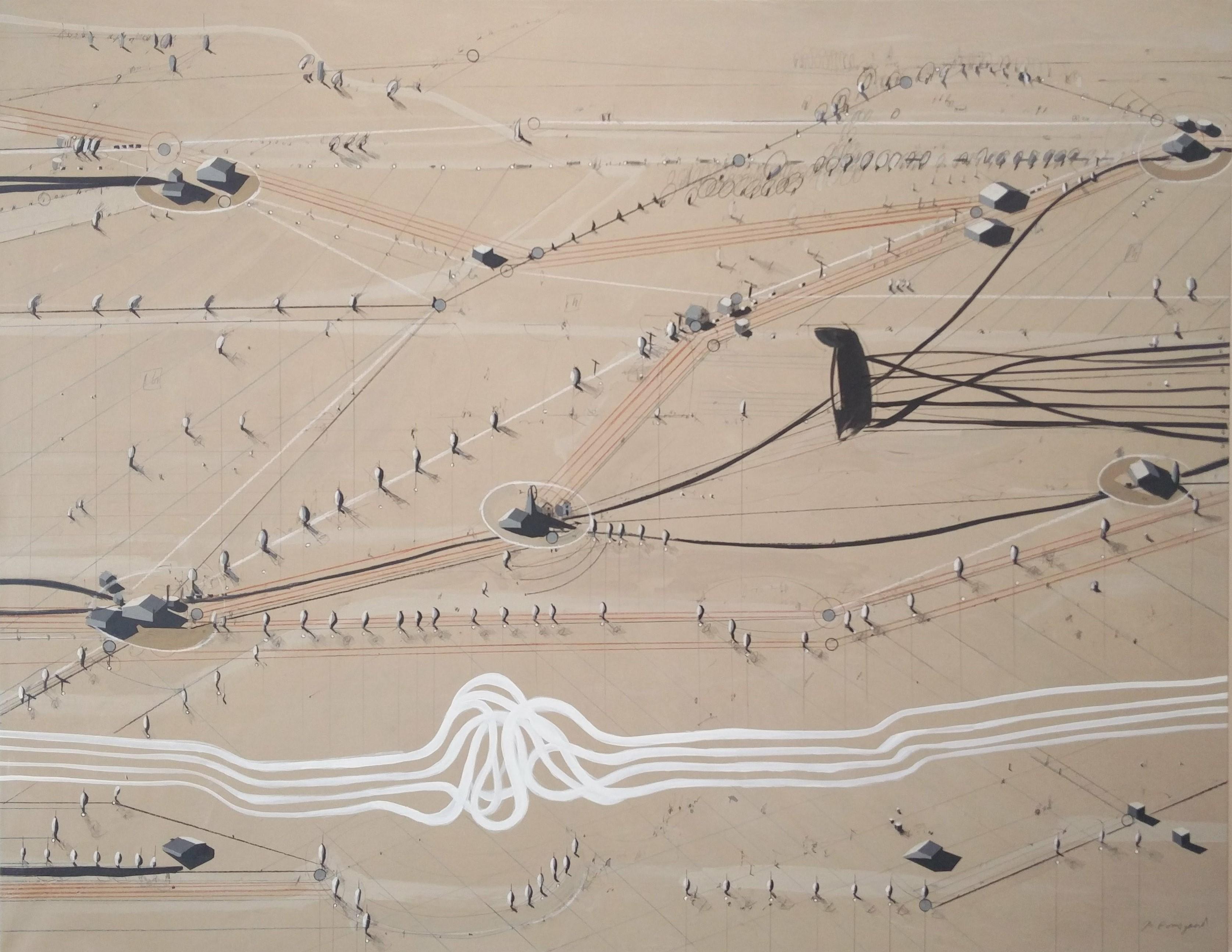 jesu fodspor i sandet
