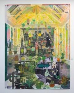 Nana Rosenørn Holland Bastrup - MEIN KLEINER GRÜNER KAKTUS, DER STICHT, STICHT, STICHT | 180 x 140 cm