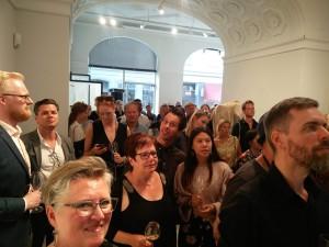 Martin Asbæk Gallery ved præsentation af vinderne