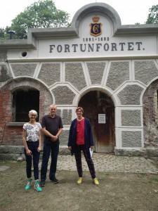 Fortunfortets Venner og Stine Ring Hansen tager imod besøg på Fortunfortet frem til 9. september 2018.