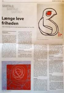 Kunstavisen 2016 nr 1 - Tina Hille -