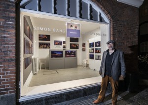 Simon Bang ved Kunstmix, oktober 2018 foto: Ole Haupt