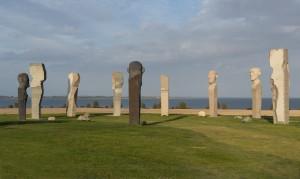 Dodekalitten - et monument for den kommende tid  foto: Carsten Krogstrup